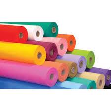 TNT tecido cores por metro linear de gramatura 40