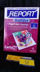 Papel Sulfite Report Carta 90g/m² (grosso)