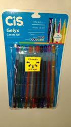 Cis Gelyx  caneta Gel estojo com 10
