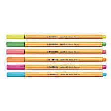 Stabilo point 88 Neon caneta