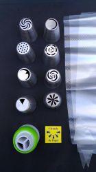 Bico Inox para confeitar ø 25 mm tipo Russo