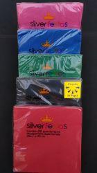 Guardanapo colorido Silver Festas  folha dupla