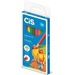 Lápis de cor Cis -12 cores
