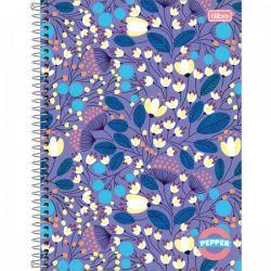 Caderno Pepper 1 matéria Feminino