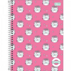 Caderno Pepper 10 matérias Feminino