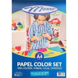 Bloco criativo color set A4