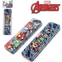 Estojo escolar de Metal Avengers